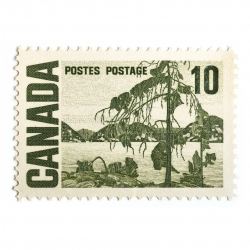 Peter Andrew - Canada Stamp 10 Cents
