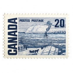 Peter Andrew - Canada Stamp 20 Cents
