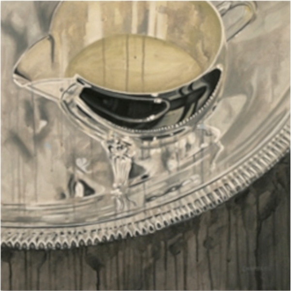 Untitled (Dripping Creamer) by Lindsay Chambers