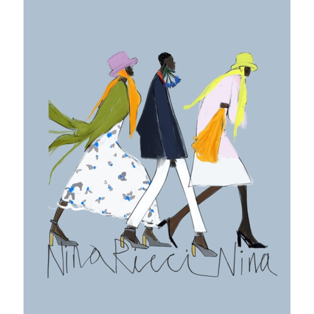 Nina Ricci 2021- Cold Walk by Annie  Naranian
