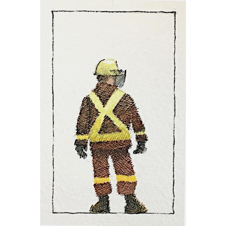 Fire Fighter by J. Joel