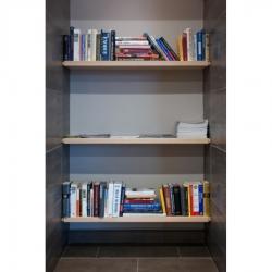 Tek Yang - Bookshelves-Synagogue