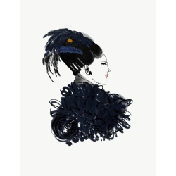 Annie  Naranian  - Marc Jacobs x Stephen Jones Millinery Headpiece 1