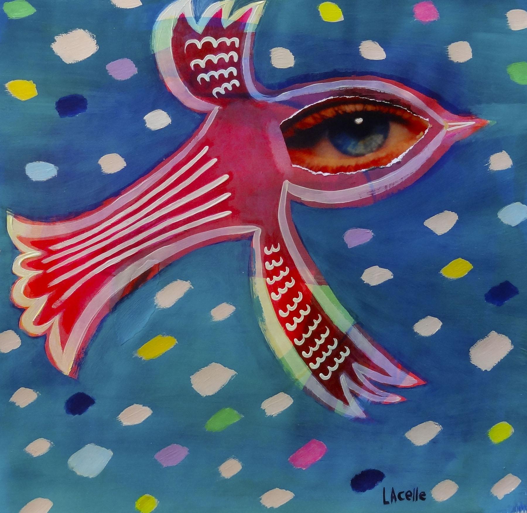 Confetti Sky #2 by Helene Lacelle