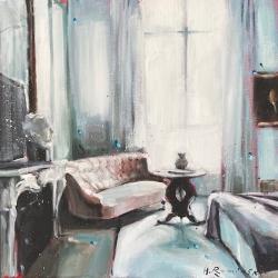 Hanna Ruminski - Parisian Apartment in White III