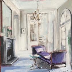 Hanna Ruminski - Parisian Apartment in White I