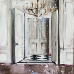 Hanna Ruminski - Interior in White I