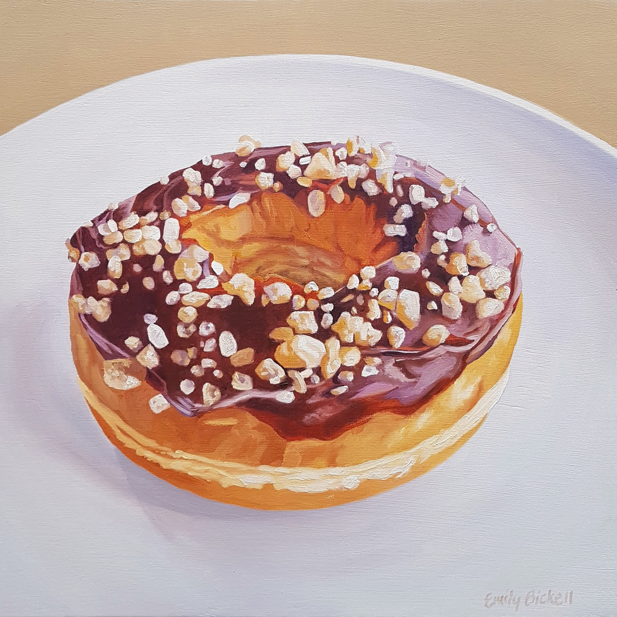 Salted Caramel Donut by Emily Bickell