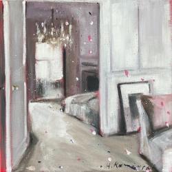Hanna Ruminski - Parisian Apartment in Mauve