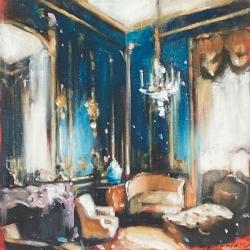 Hanna Ruminski - Chateau Interior with Settee