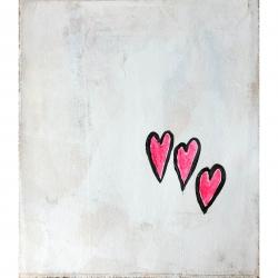 Meret  Roy  - Pink Hearts