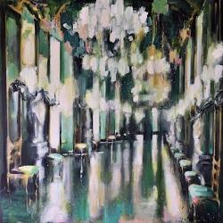 Hanna Ruminski - Gallery of Mirrors in Green