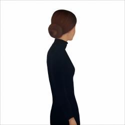 Marina  Nazarova - Lady in a Black Dress
