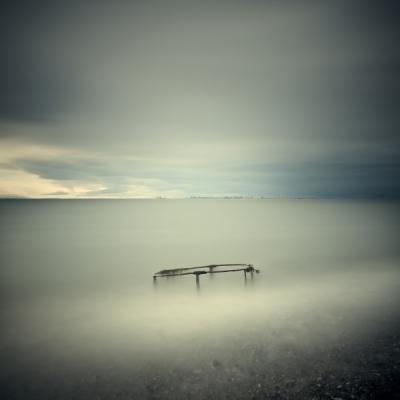 Salish Sea, Study 2 #25 by David Ellingsen