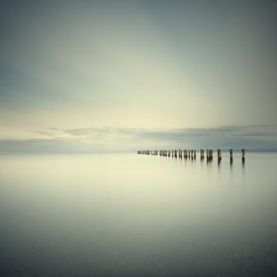 Salish Sea, Study 2 #66 by David Ellingsen