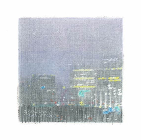 City Nights 3 by Eleanor Doran