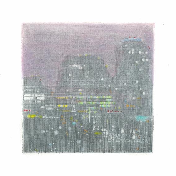 City Nights 1 by Eleanor Doran