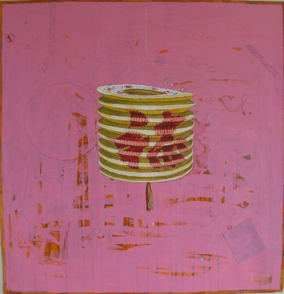 Chinese Lantern 2 by Mary Lottridge