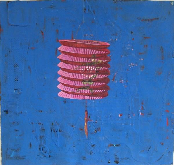 Painted Lantern by Mary Lottridge