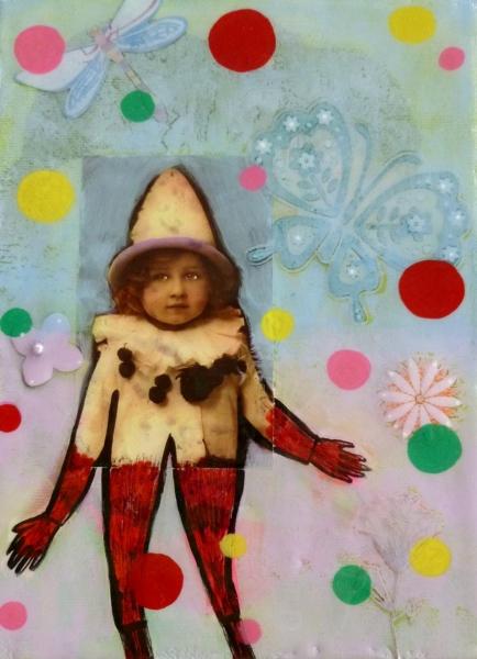 Magic Little Clown by Helene Lacelle