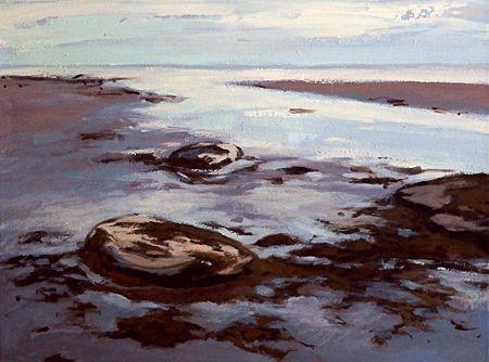 New Brunswick Shoreline III by Jessica Masters