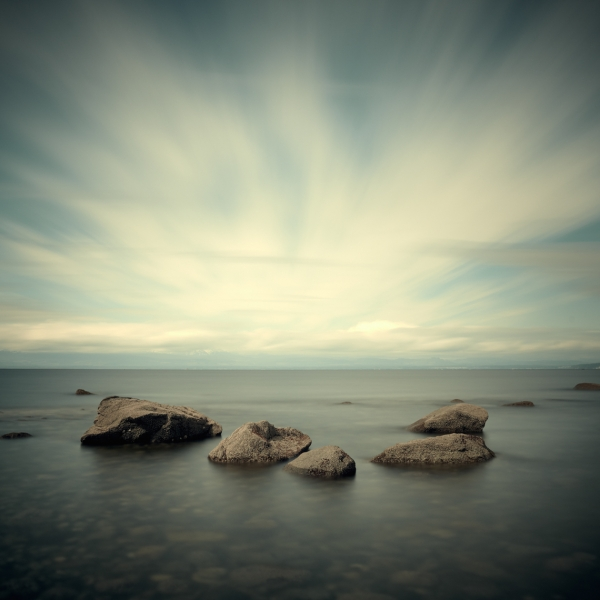 Salish Sea, Study 2 #74 1/10 by David Ellingsen
