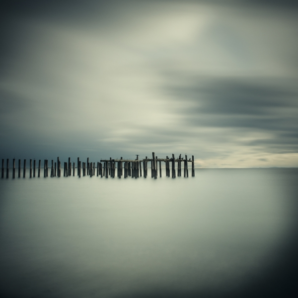Salish Sea, Study 2 #21 1/10 by David Ellingsen