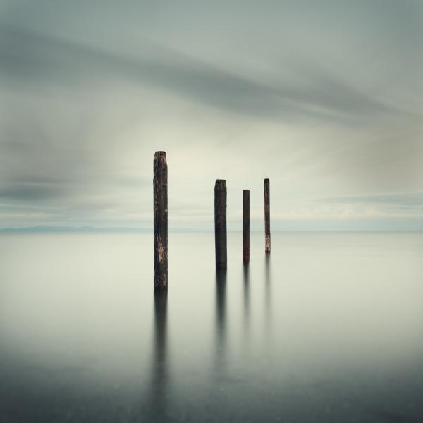 Salish Sea, Study 2 #48 1/10 by David Ellingsen