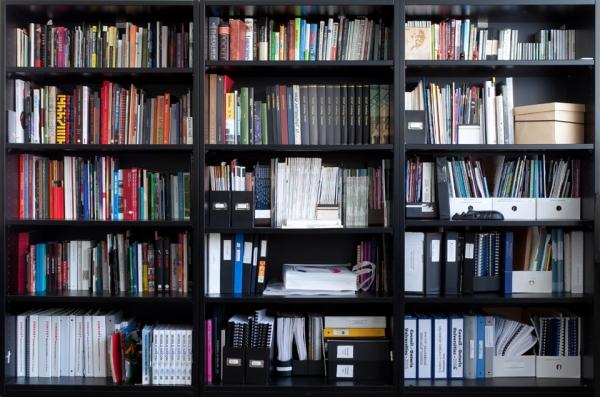 Bookshelves Series-SD, 1/9, 2011 by Tek Yang