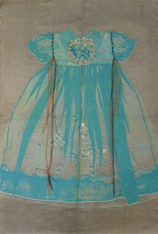 Baby Dress and Bluebird by Susan Fothergill