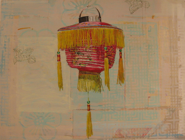Fringed Lantern #1 by Mary Lottridge