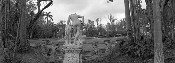Vizcaya Gardens - Statue Rear View 1/5 by Paul Till