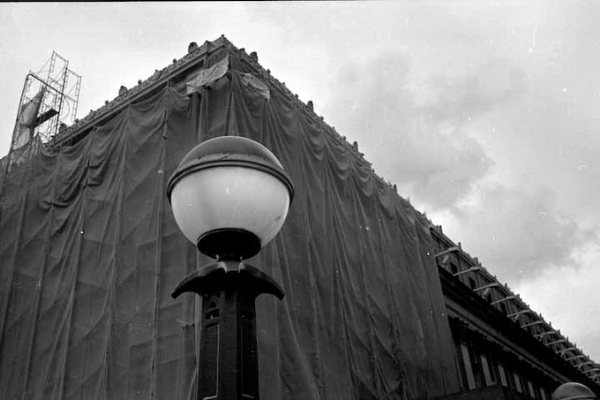 NYC Light Standard by Paul Till