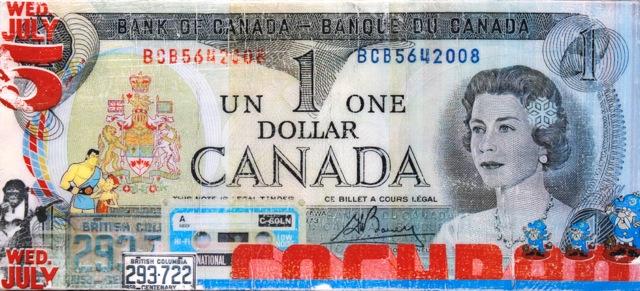 1 Dollar 6 2014 by Greg Shegler
