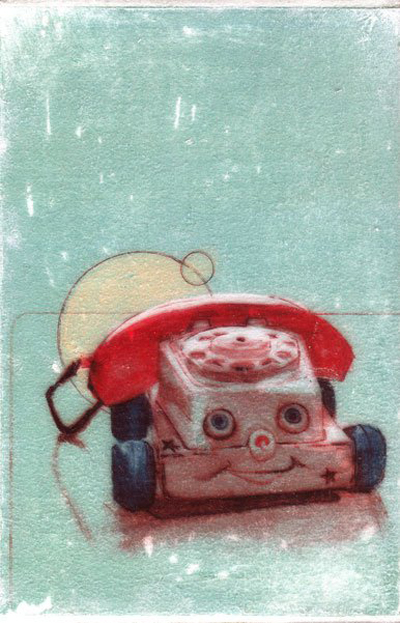 Phone Icon by Kelly Grace