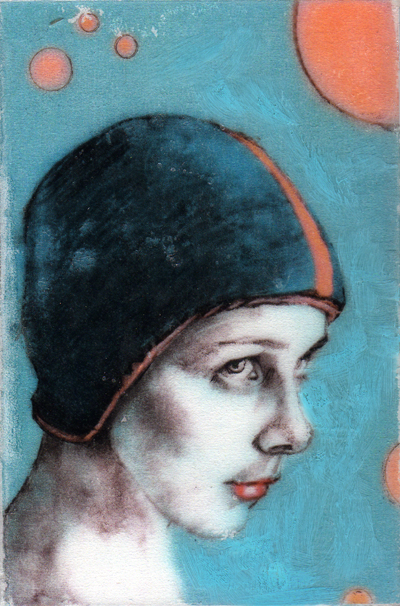 Blue Cap  by Kelly Grace