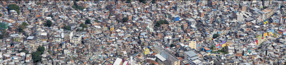 Rocinha by Peter Andrew