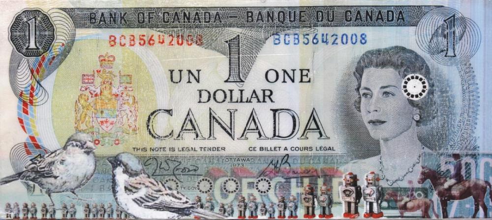 One Dollar #8 by Greg Shegler