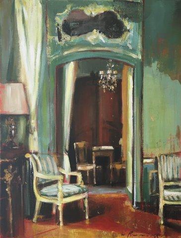 Walls with Venetian Velvet  by Hanna Ruminski