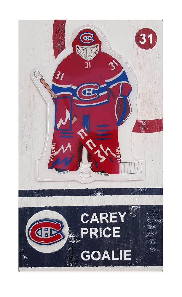 Carey Price  by Christopher Hayes