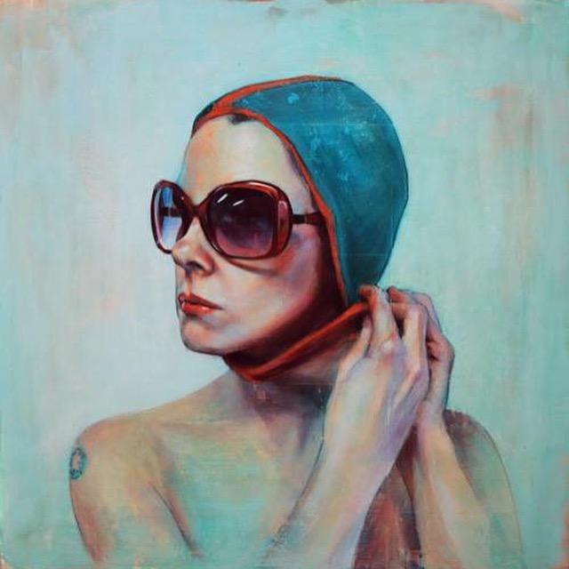 Swimmer  by Kelly Grace
