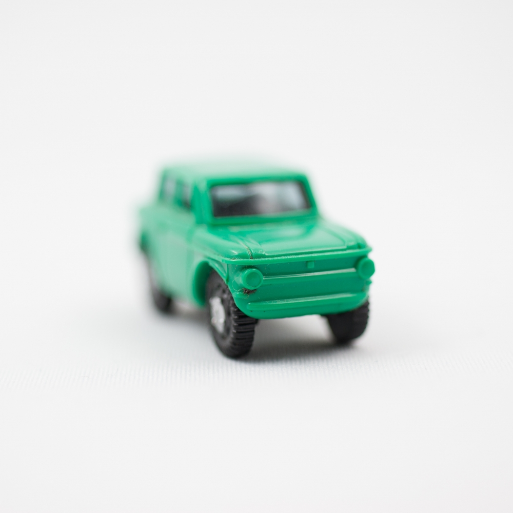 Green Car No. 2  by Jordan Nahmias