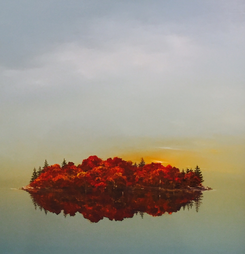 Muskoka Island  by Scott Steele