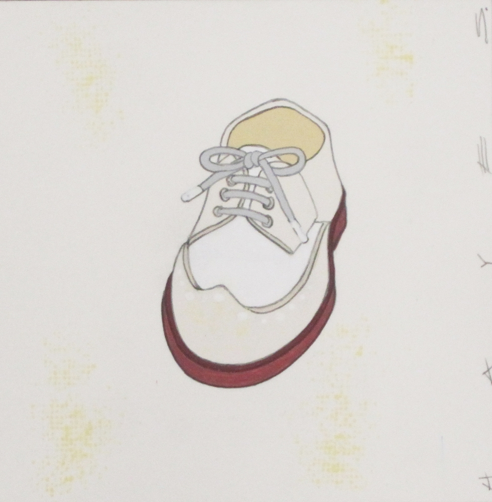 Brown and Cream Brogues  by Christopher Hayes