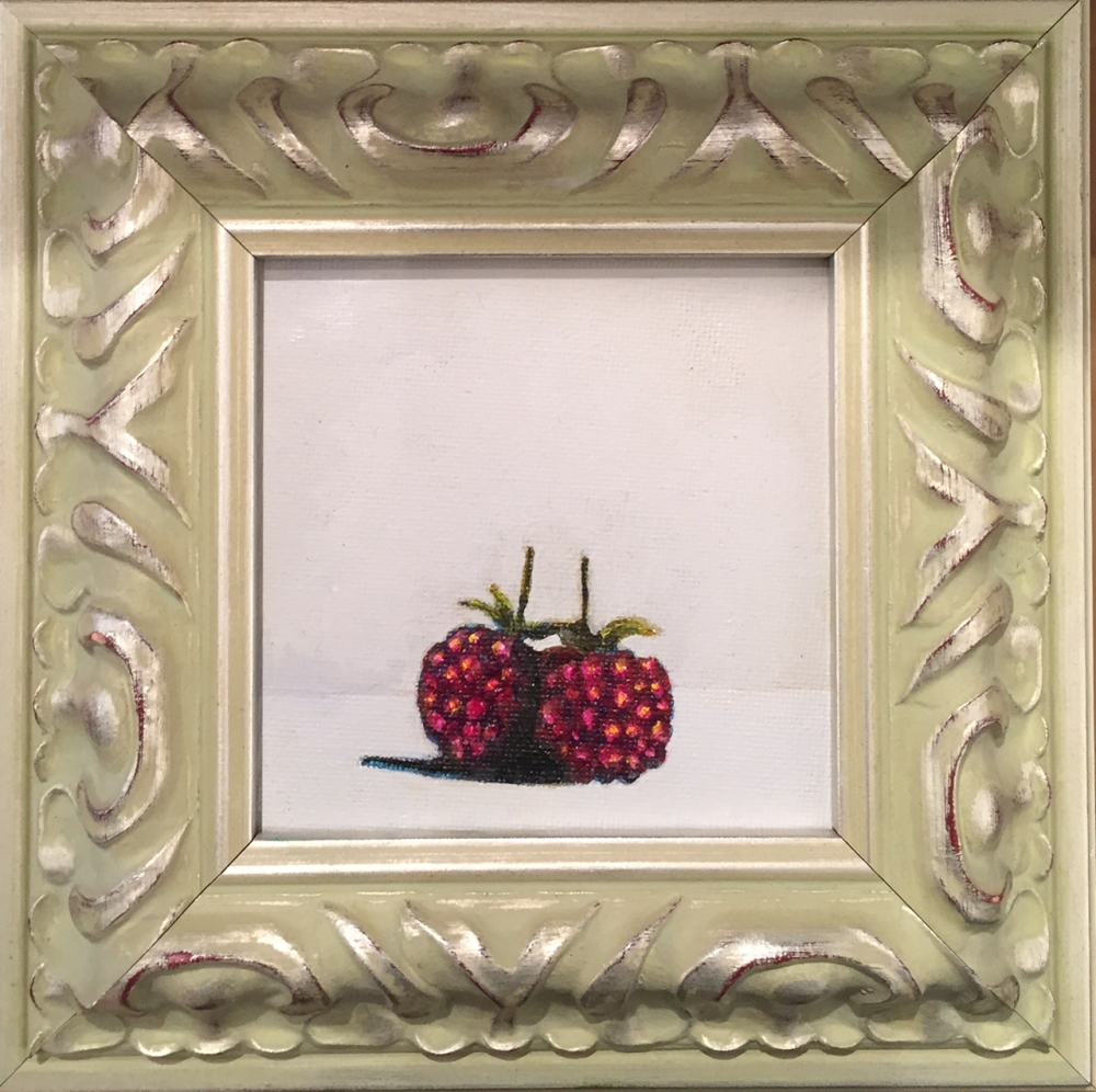Time and Again #4 (raspberries)  by Nancy Kembry