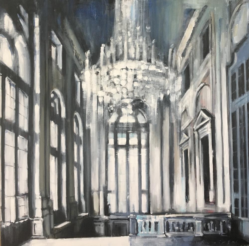 Palazzo Madama Atrium by Hanna Ruminski
