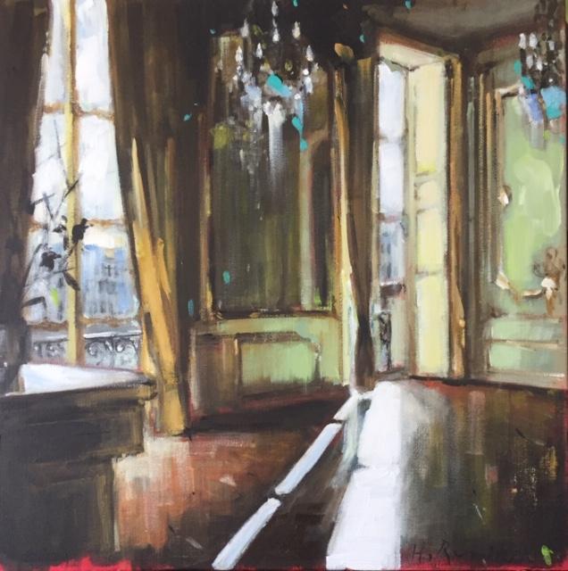 Parisian Apartment I by Hanna Ruminski
