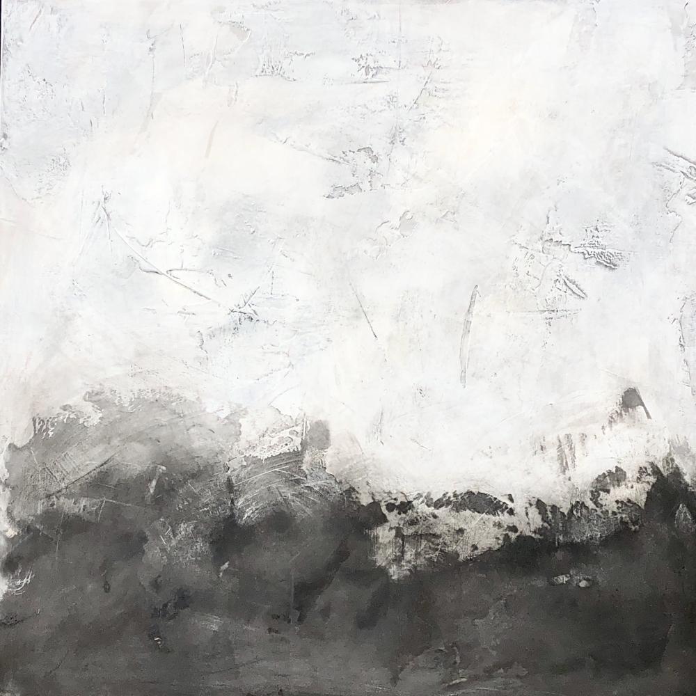 Black Landscape by Meret  Roy