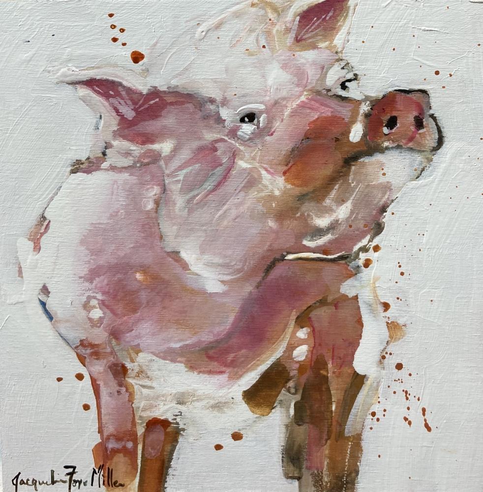 Singing Sow by Jackie  Miller