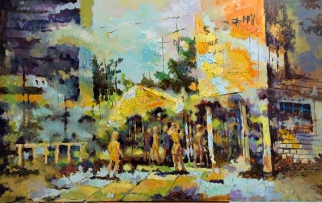 Coffeehouse Erskine by Masood Omer